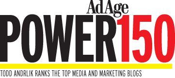 AdAge Power150 from Tod Andrelik
